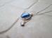 カイヤナイト(青い銀河)ーネックレス